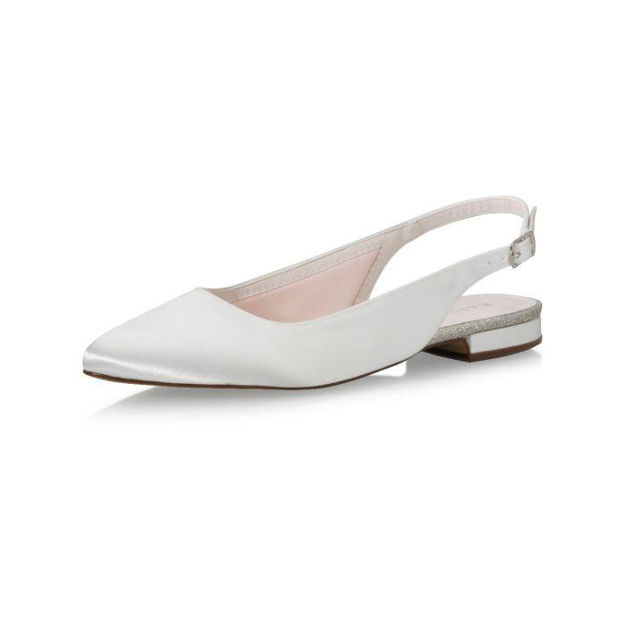 Bridal shoe Alise Ivory Satin