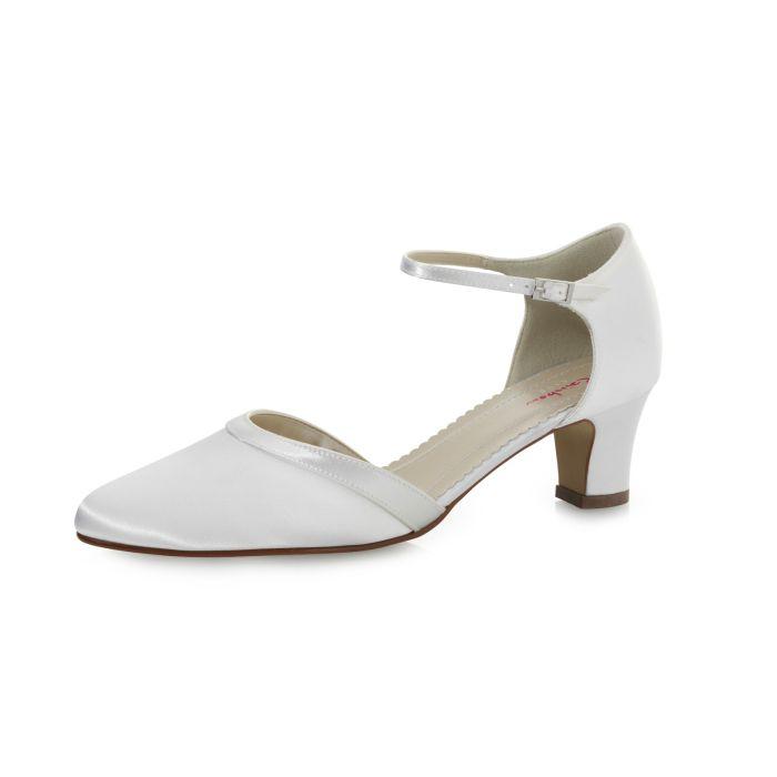 Bridal shoe Anika Pure White Satin