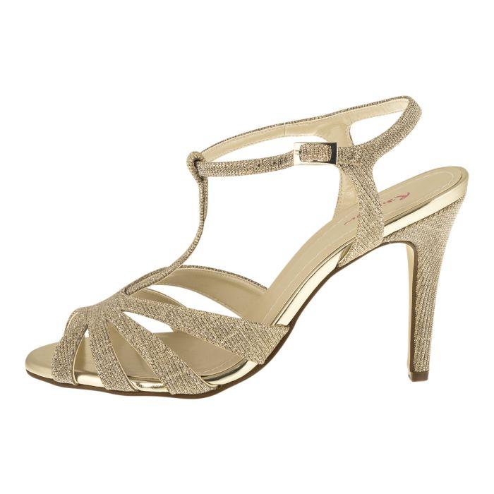 Bridal shoe Annabel Gold Metallic