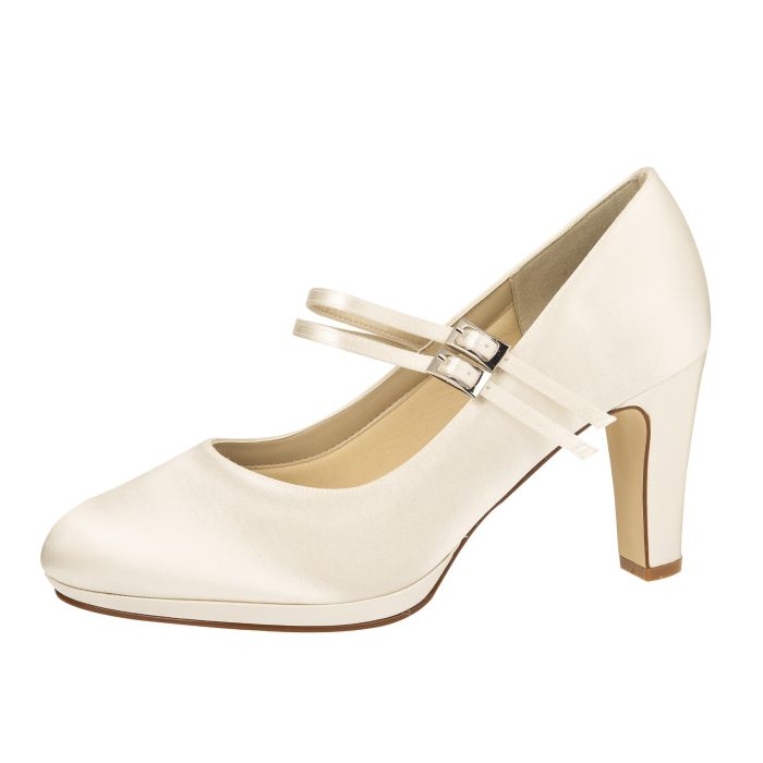 Bridal shoe Annette Ivory Satin