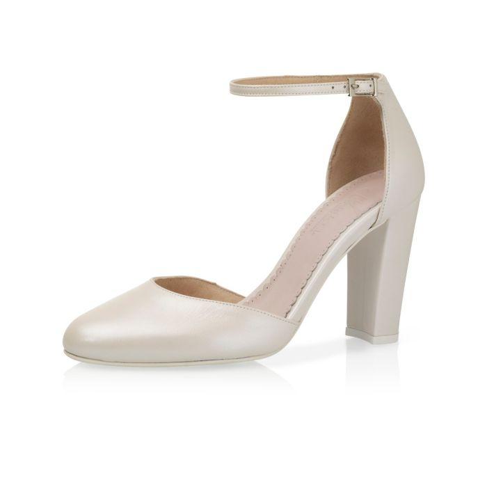 Bridal shoe Beverli Perle Leather