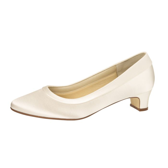 Bridal shoe Brenda Ivory Satin