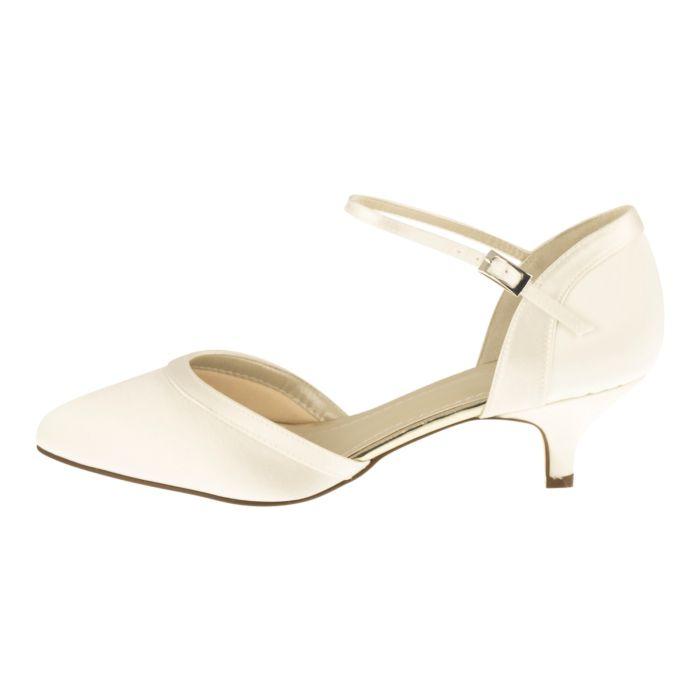 Bridal shoe Brianna Ivory Satin