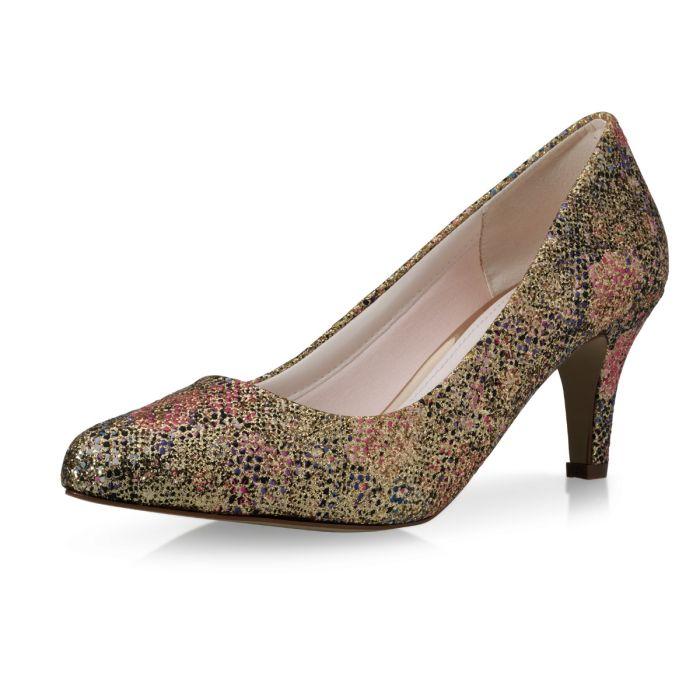 Bridal shoe Brooke Champagne Lustre