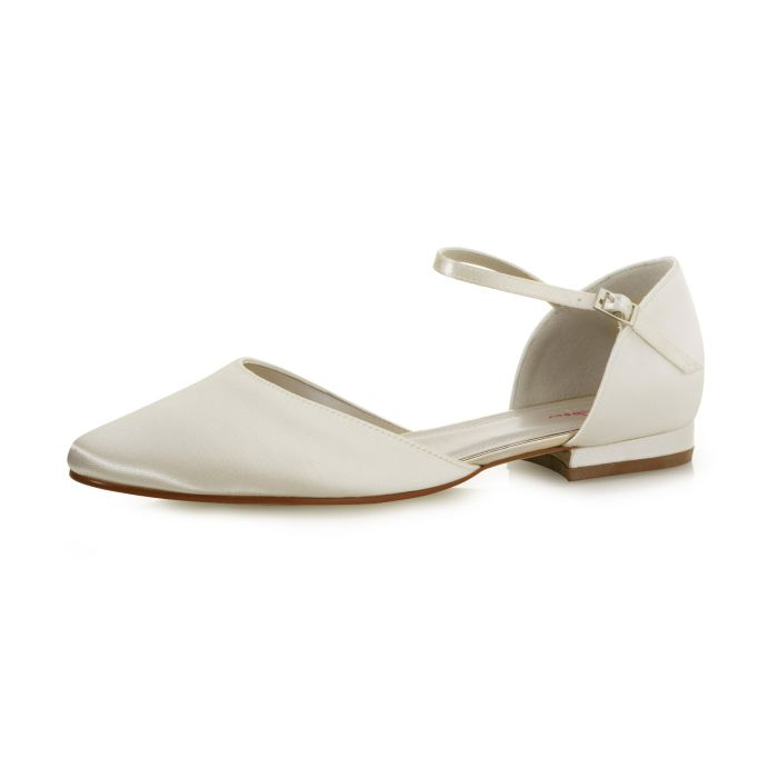 Bridal shoe Cameron Ivory Satin