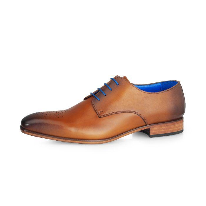 Wedding shoe Carlos Calf Leather - Brandy