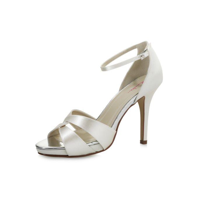 Bridal shoe Cate Ivory Satin