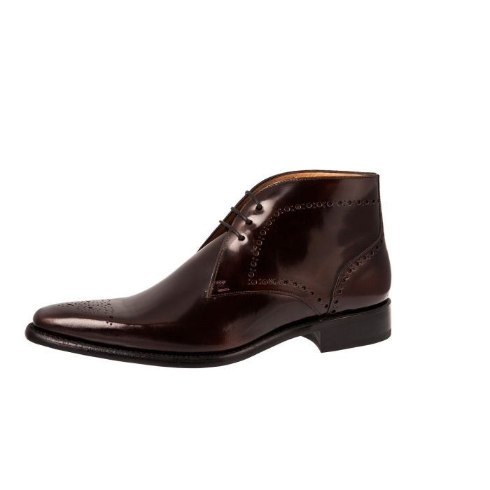 Trouwschoen Charles Dark Brown Exquisite Leather