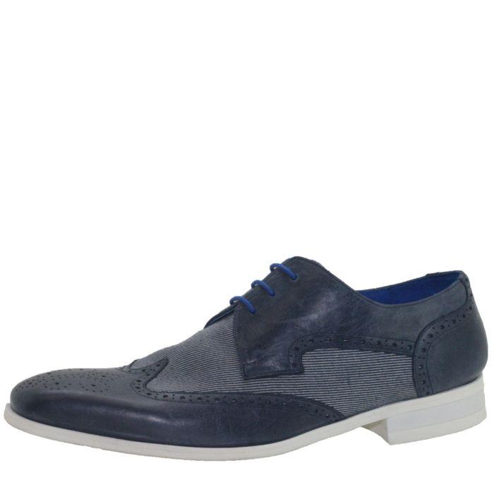 Trouwschoen Chuck Calf Leather/ Jeans - Dark Blue