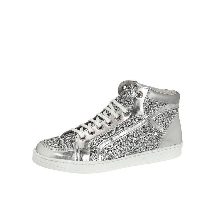 silver glitter plimsolls