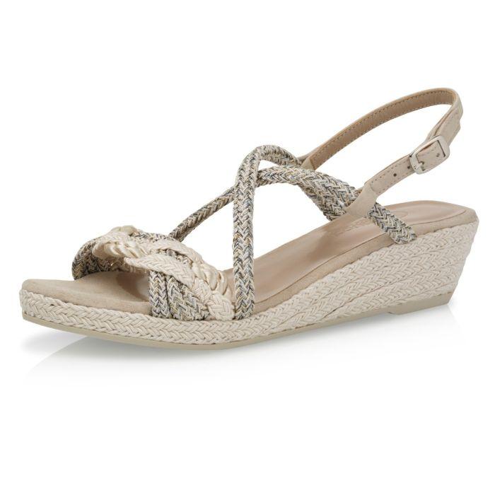 Bridal shoe Debbi Perle Braided
