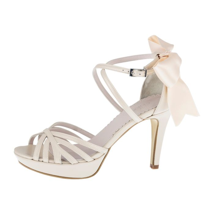 Bridal shoe Dominique Nude Leather