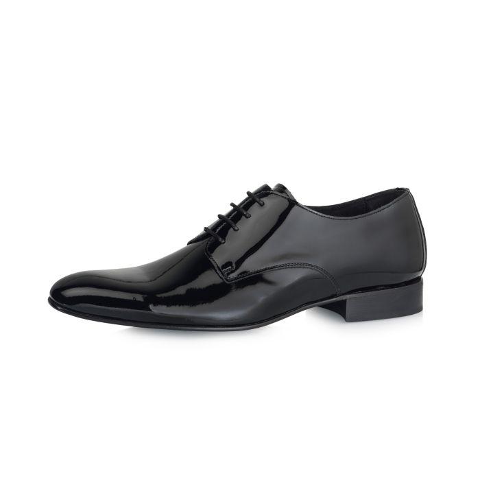 Wedding shoe Duco Black Patent Leather