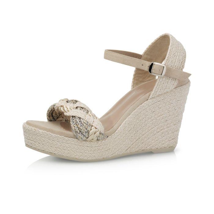 Bridal shoe Ellis Perle Braided