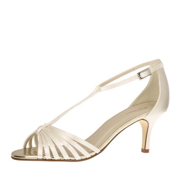 Bridal shoe Estelle Ivory Satin