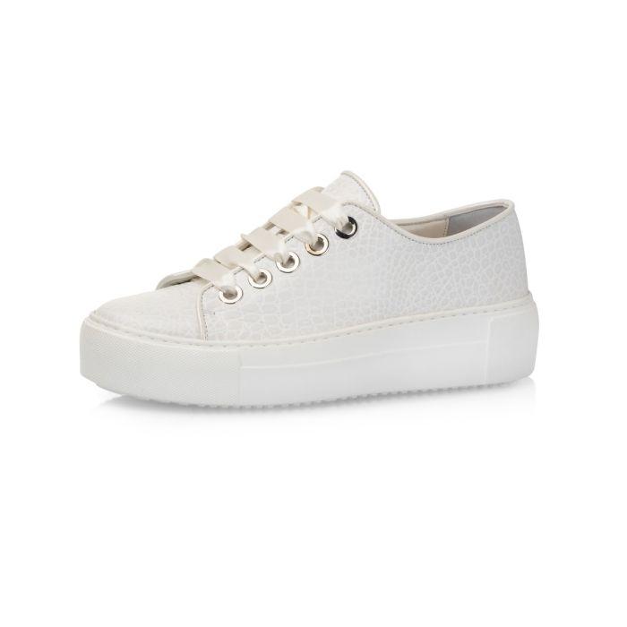 Bridal shoe Femm Off-White Croco
