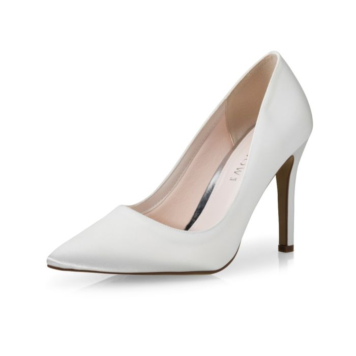 Bridal shoe Fergy Ivory Satin