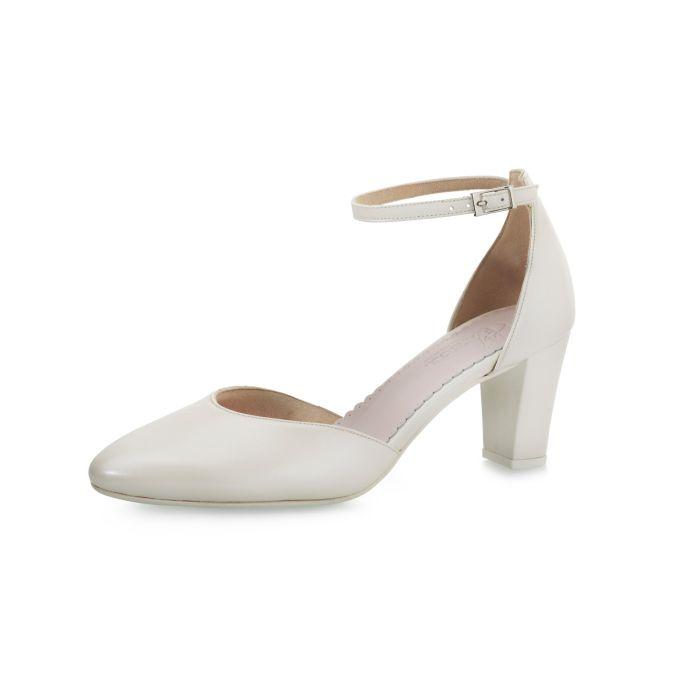 Bridal shoe Fernanda Perle Leather