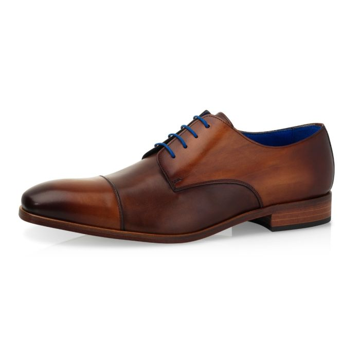 Trouwschoen Ferron Calf Leather - Castano/Dark Brown