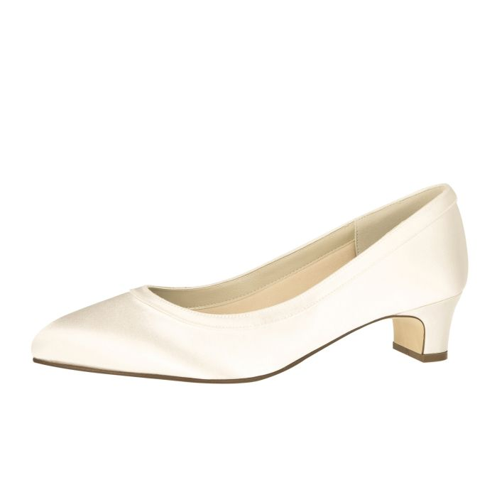 Bridal shoe Gisele (+FIT) Ivory Satin