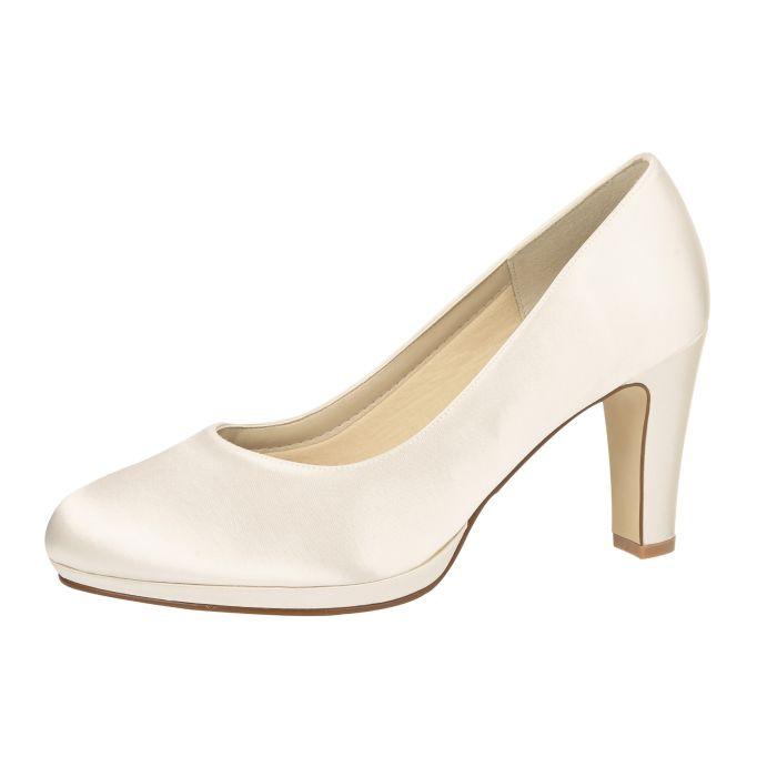 Bridal shoe Grace Ivory Satin