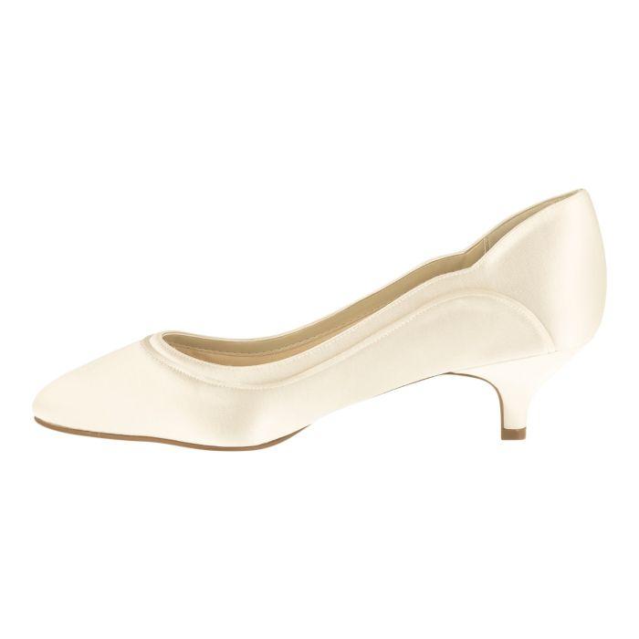 Bridal shoe Hollie Ivory Satin