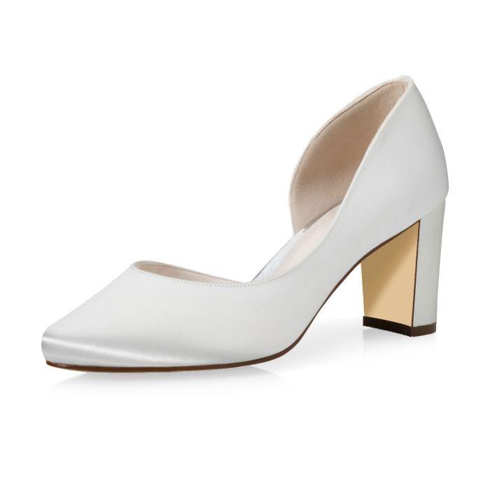 Bridal shoe Jaylin Ivory Satin