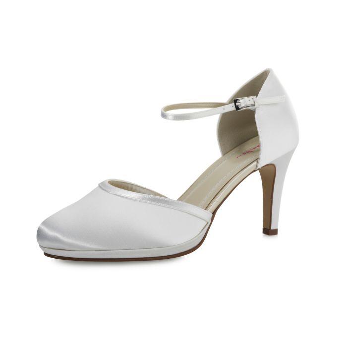 Bridal shoe Joni White Satin