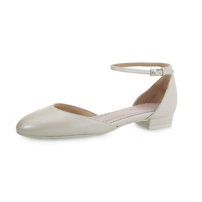 Bridal shoe Judie Perle Leather
