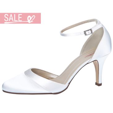 Bridal shoe Amanda White Satin