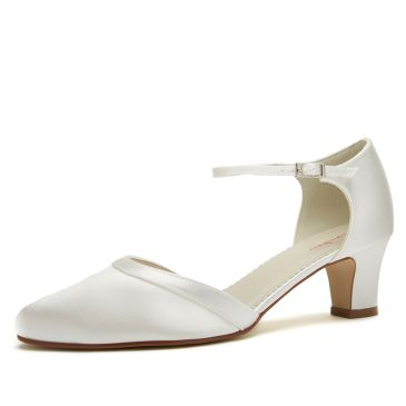 Bridal shoe Anika Ivory Satin