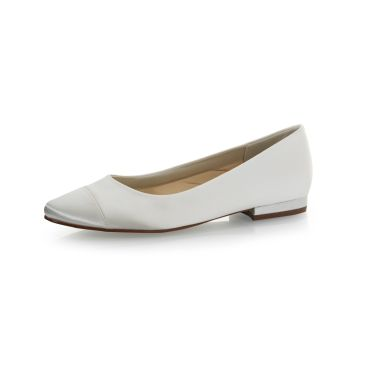 Bridal shoe Bess Ivory Satin