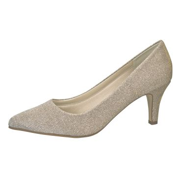 Bridal shoe Brooke Gold Metallic
