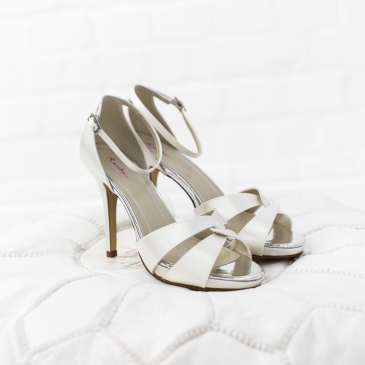 Cate Ivory Satin