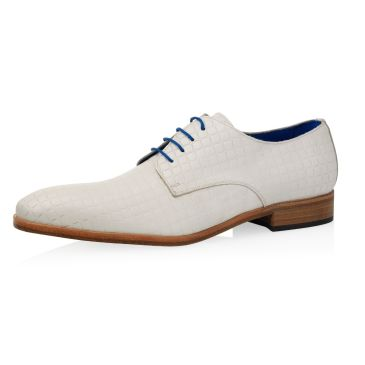 Brautschuhe Craig Calf Leather Square- Ivory