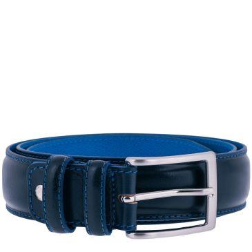 Gürtel Danny Calf Leather - Dark Blue (7)