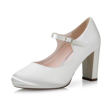 Bridal shoe Delina Ivory Satin
