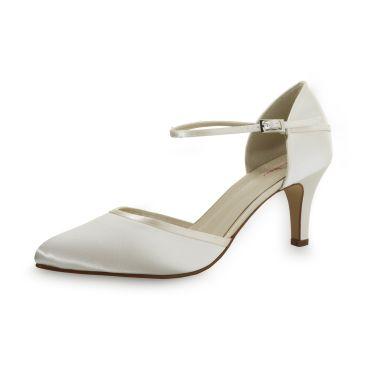 Bridal shoe Dewi Ivory Satin