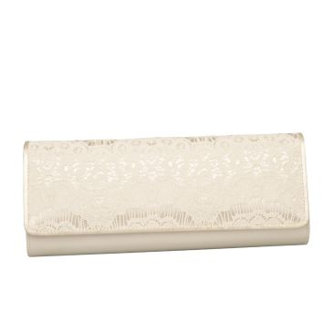Edita Ivory Luxury Lace/Satin