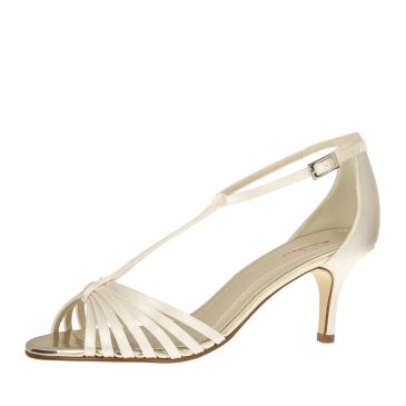 Bridal shoe Estelle Ivory Satin