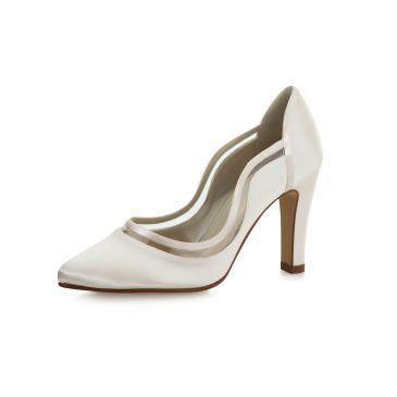 Bridal shoe Farrah Ivory Satin