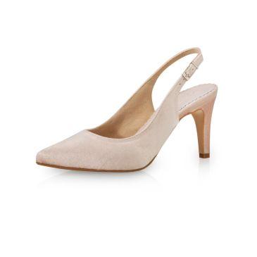 Bridal shoe Indya Blush Velvet
