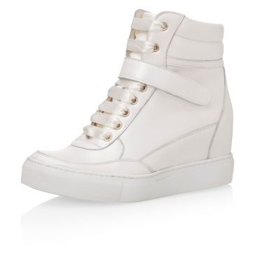 Jaimy Off-White Leather