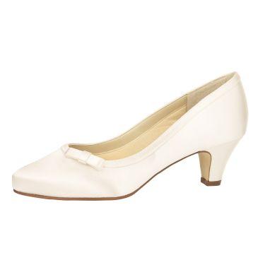 Bridal shoe Josephine Ivory Satin