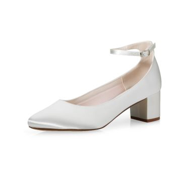 Bridal shoe Kamilla Ivory Satin