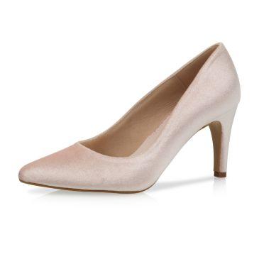 Bridal shoe Katya Blush Velvet