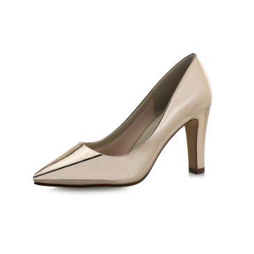 Bridal shoe Mandy Rose-Gold Mirror