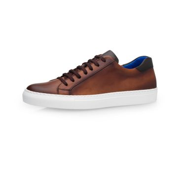 Manuel Milan Calf Leather - Castano