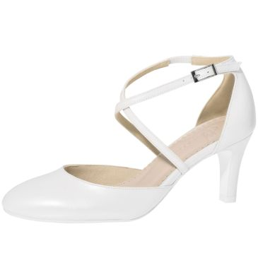 Merlinde White Leather