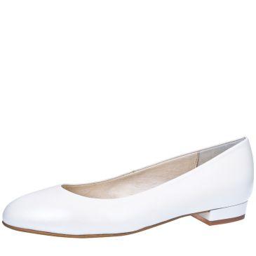 Mirella White Leather